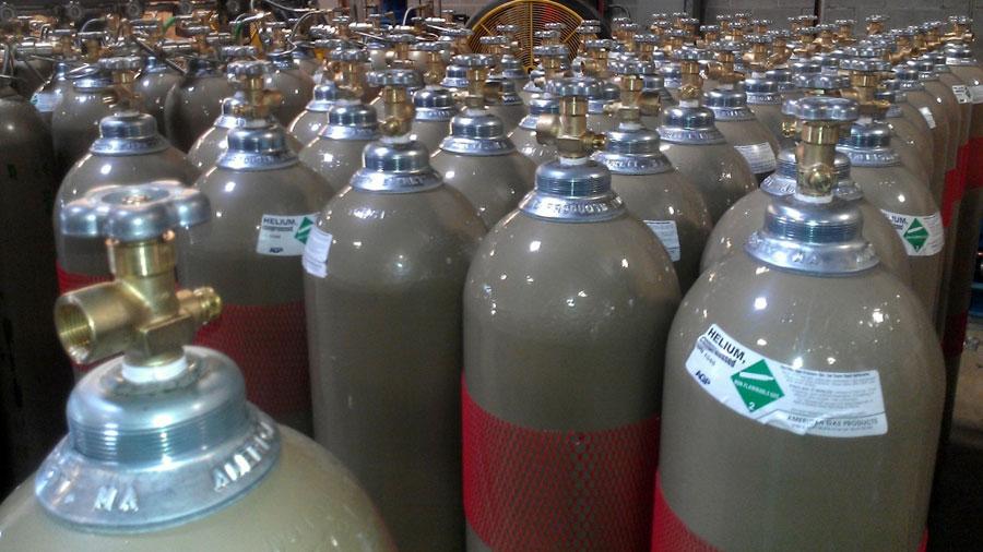سیلندر گاز هلیوم
